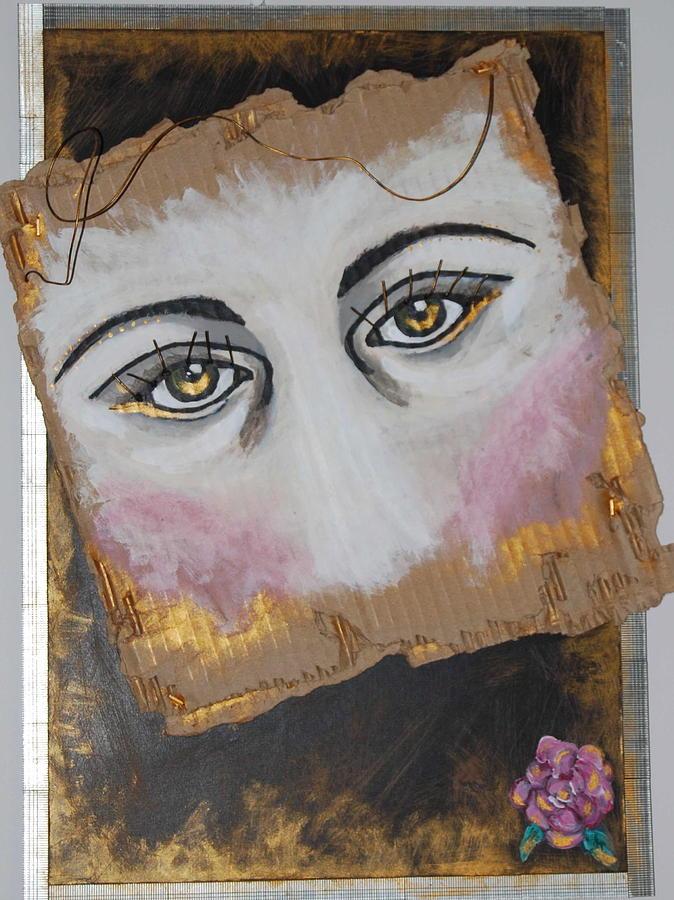 Face Mixed Media - Bloom by Kae Ashtin
