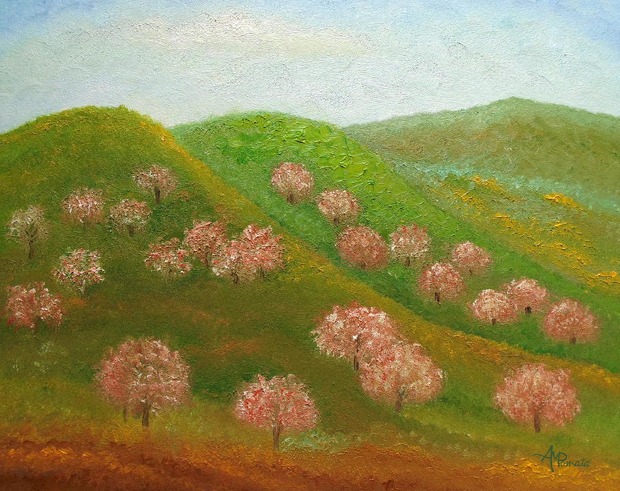 fineartamerica.com - Blooming Dales by Angeles M Pomata