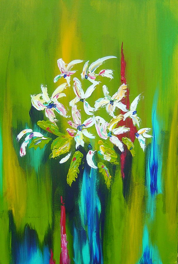 Floral Painting - Blooming Glory by Nicole Lee