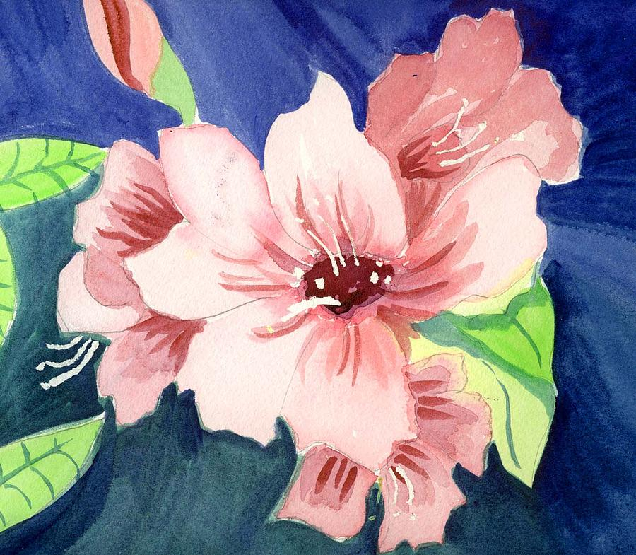 Blossom Painting by Janet Doggett