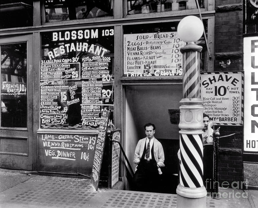 New York Photograph - Blossom Restaurant by Lionel F Stevenson