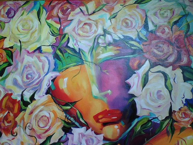Blossoming Painting by Heather Roddy