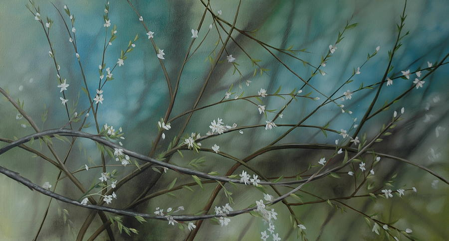 Trees Painting - Blossoms by Richard Cole