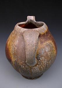Pitcher Ceramic Art - Blow Fish Pitcher by Simon Levin