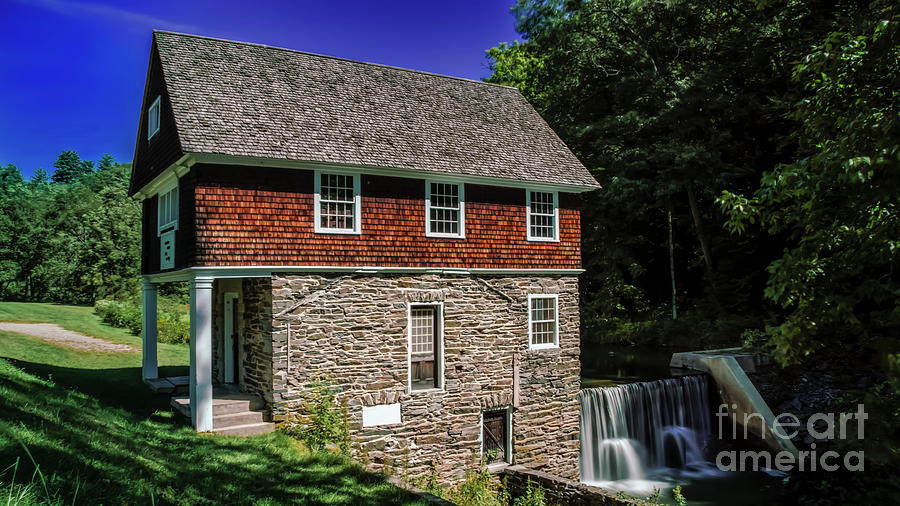 Blow-Me-Down Mill by New England Photography