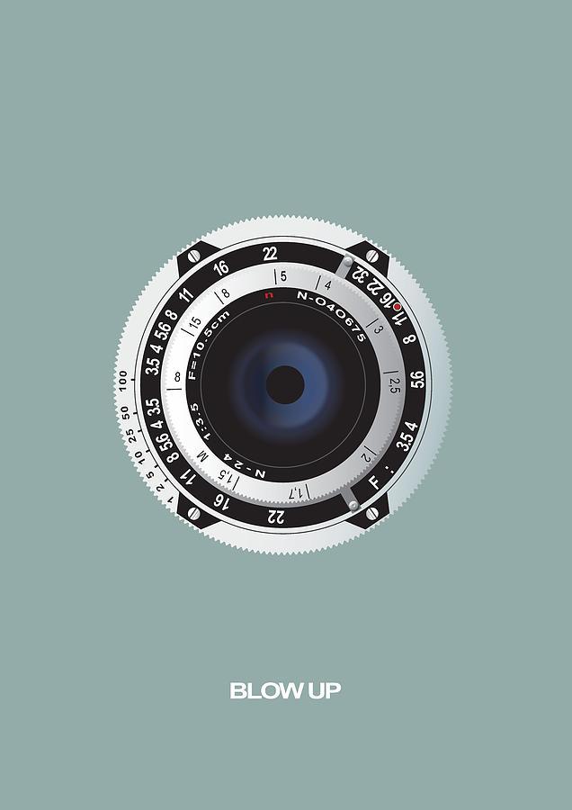 Blow Up Digital Art - Blow Up - Alternative Movie Poster by Movie Boy