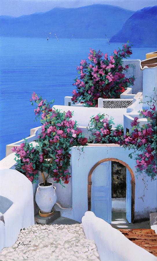 Blu Di Grecia Painting