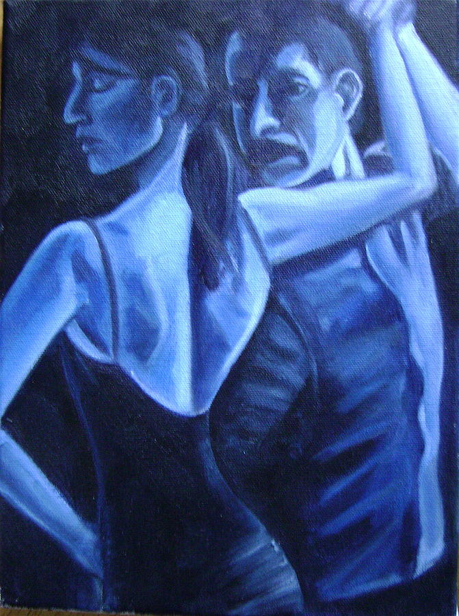 BluDance Painting by Toni Berry