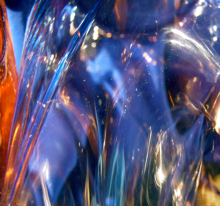 Abstract Photograph - Blue 160 by Stephanie Moore