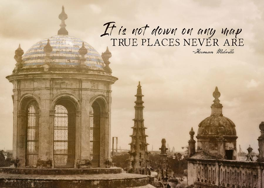 Spain Photograph - Blue Against Blue Quote by JAMART Photography