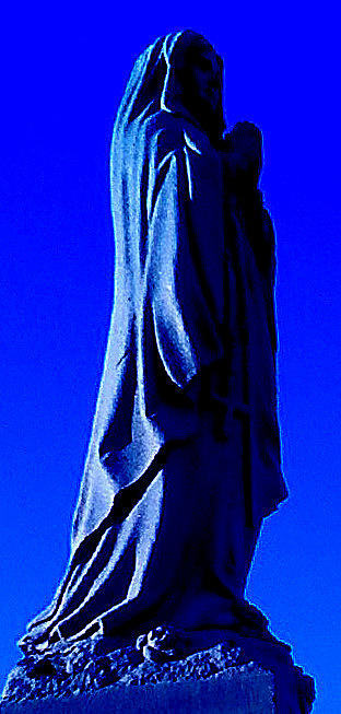 Blue Photograph by Amanda Tallcot
