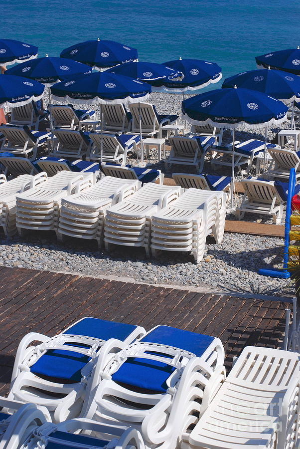 Nice Photograph - Blue And White by Andrea Simon