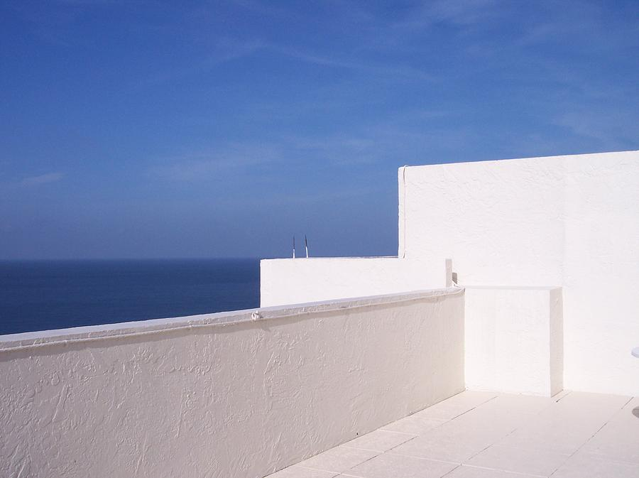Blue And White Photograph by Anna Villarreal Garbis