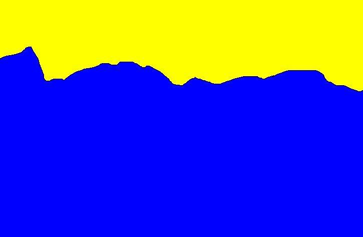 Blue And Yellow Digital Art by Miller Scoville