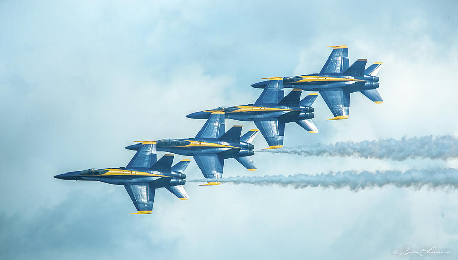 Blue Angels Pensacola 3 Photograph by Brent Shavnore