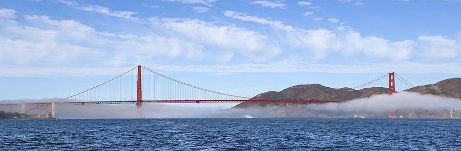 Blue Bay Waters and the Golden Gate by Rick Pisio
