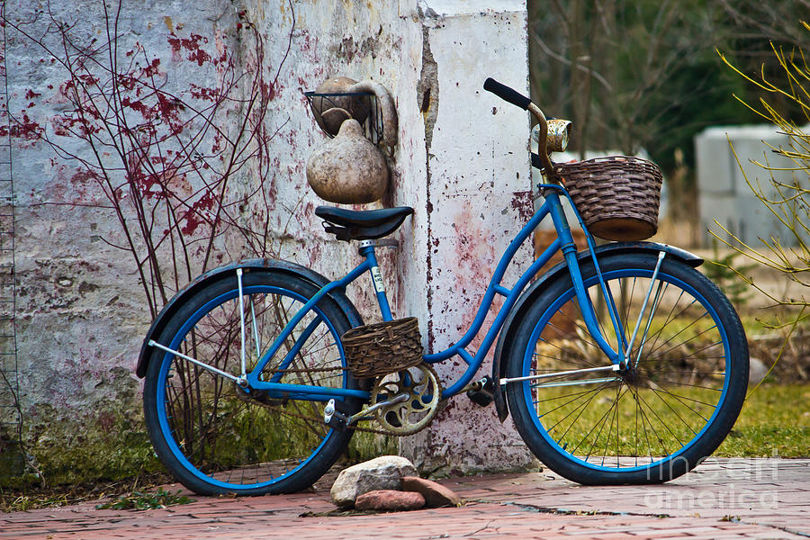 Blue Bicycle by Ms Judi