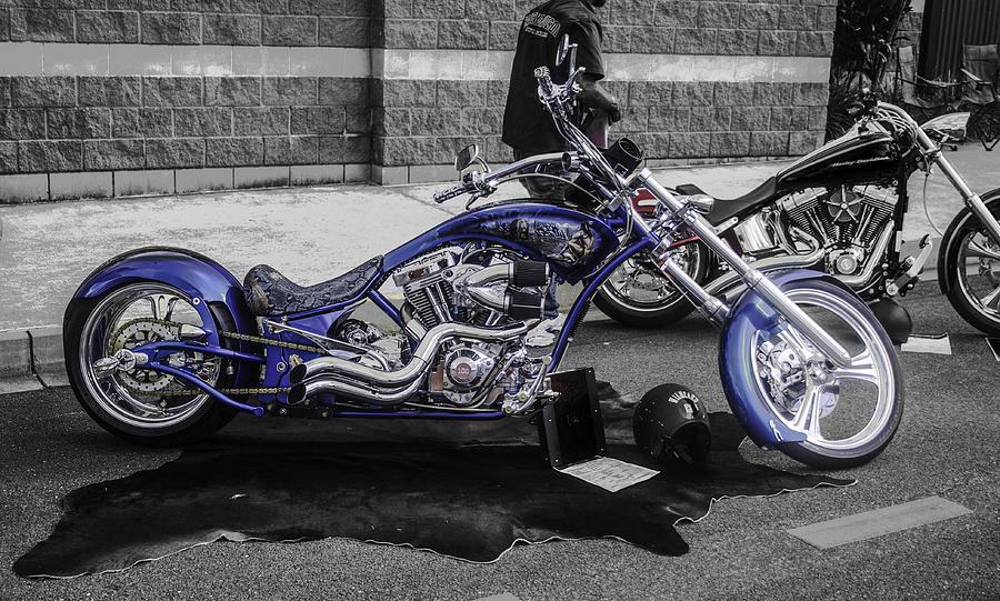 Blue Bike Photograph