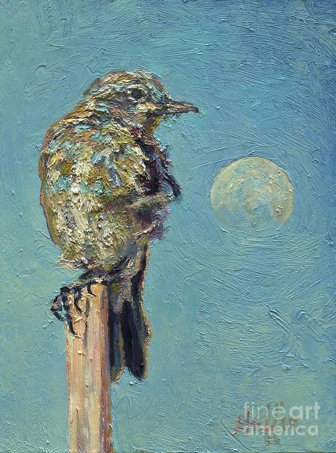 Blue Bird Moon by Patricia A Griffin