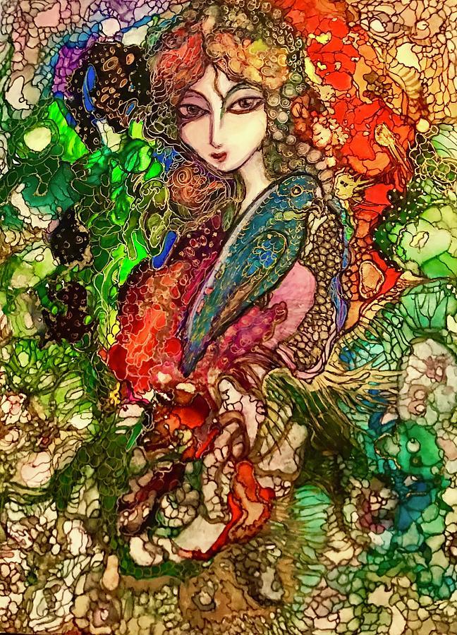 Blue Bird by Rae Chichilnitsky