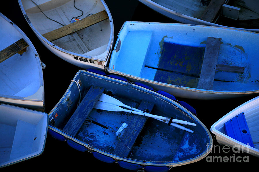 Blue Boats by Timothy Johnson