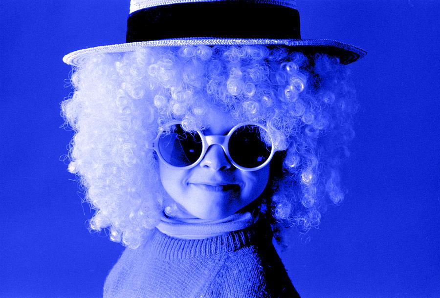 Blue Boy  Photograph by Daniel D Miller