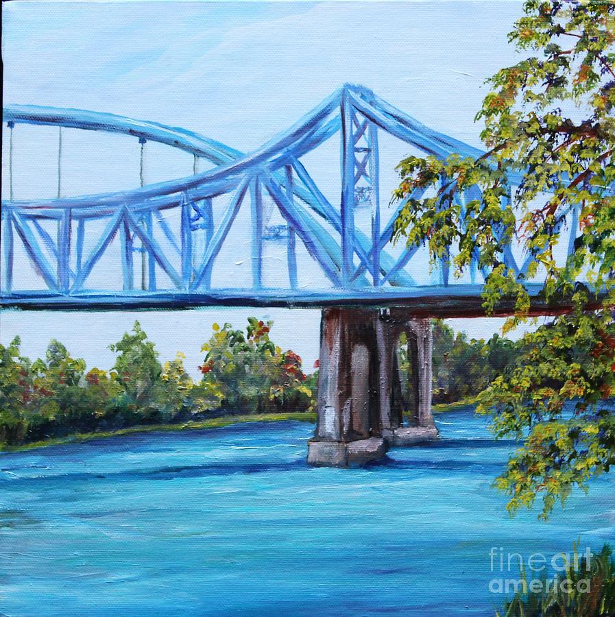 Blue Bridges by Linda Steine