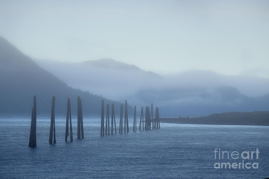 Fog Photograph - Blue by Charity Hommel