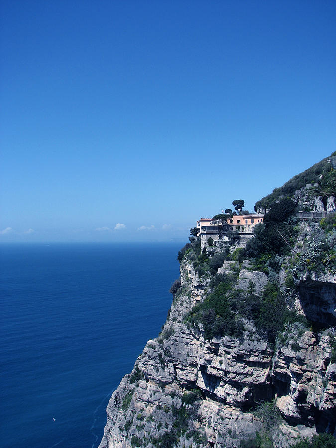 Blue Cliff by Renata Vincoletto