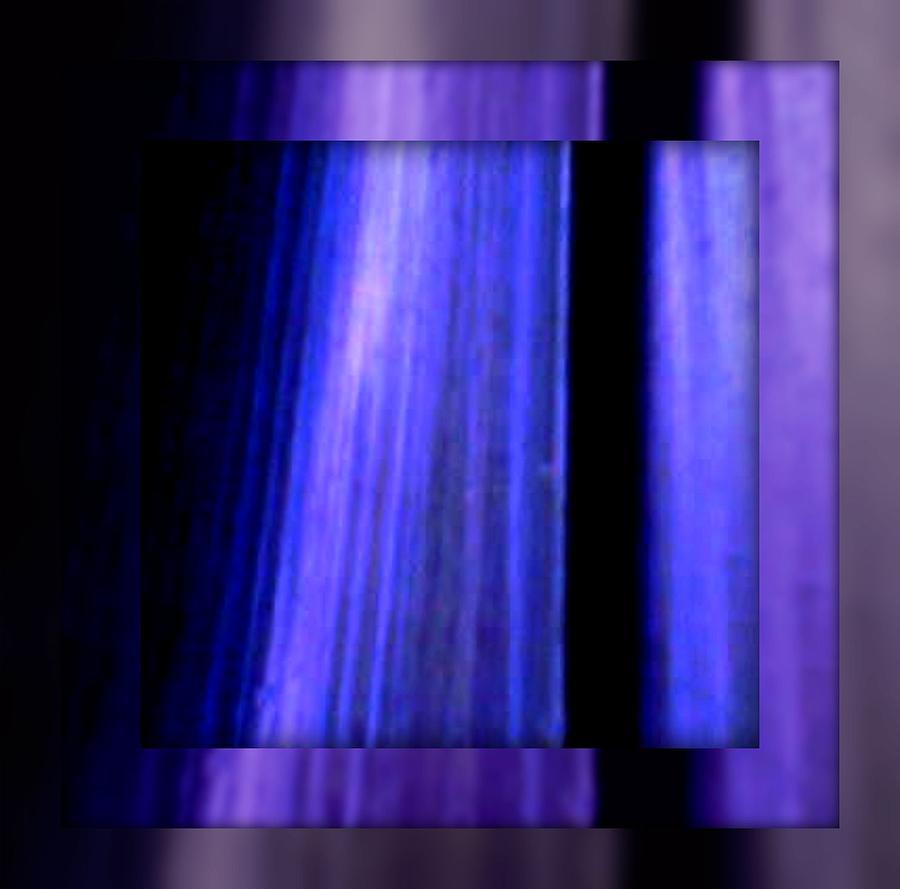 Blue Column Art Digital Art by Joan Kamaru