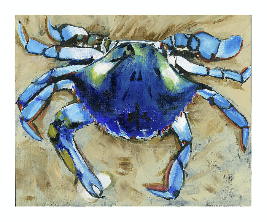 Blue crab by Debbie Brown