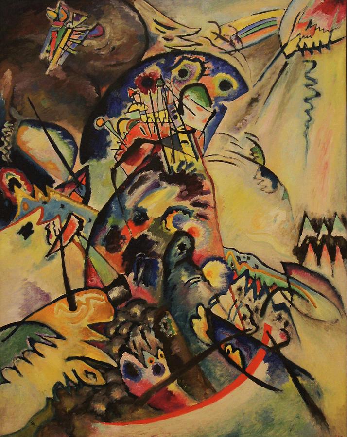Wassily Kandinsky Painting - Blue Crest by Wassily Kandinsky