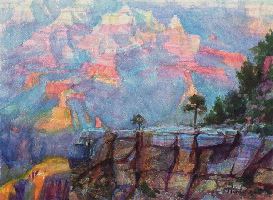 Southwest Painting - Blue Depths by Steve Henderson