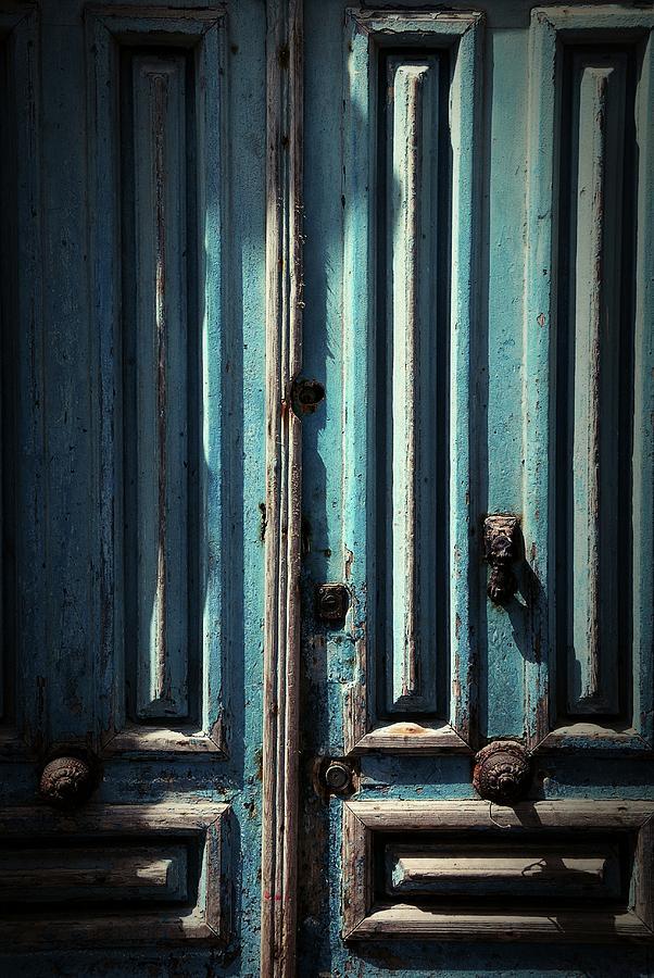 Islam Digital Art - Blue Door. Essaouira. Morocco by Carlos Perez Muley