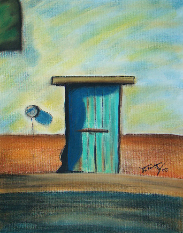 Blue Door by Michael Foltz