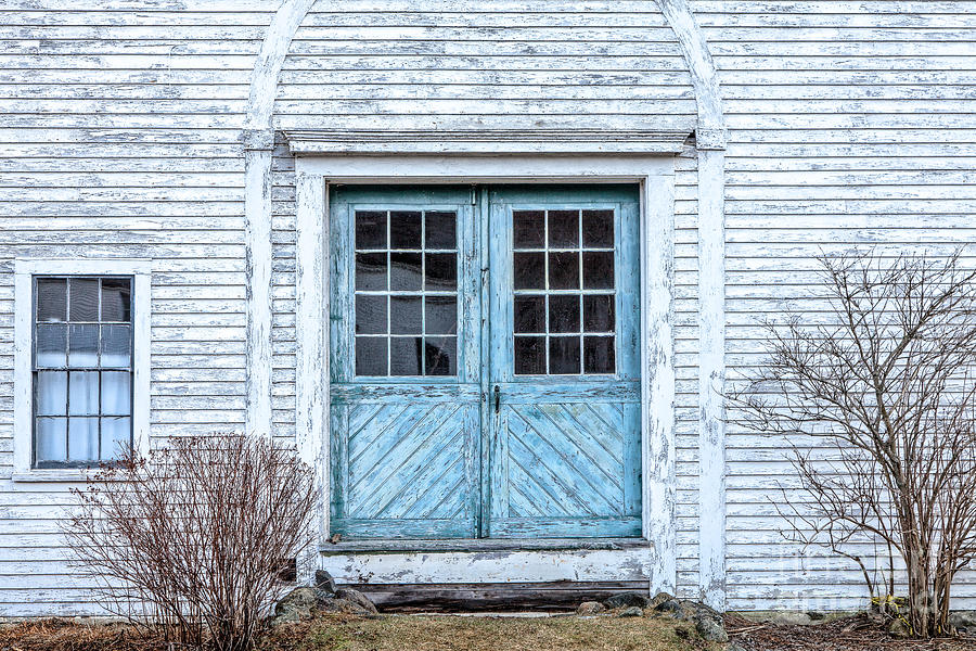 America Photograph - Blue Doors by Susan Cole Kelly