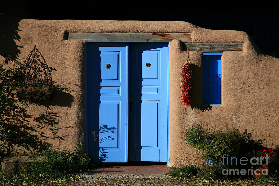 Doors Photograph - Blue Doors by Timothy Johnson