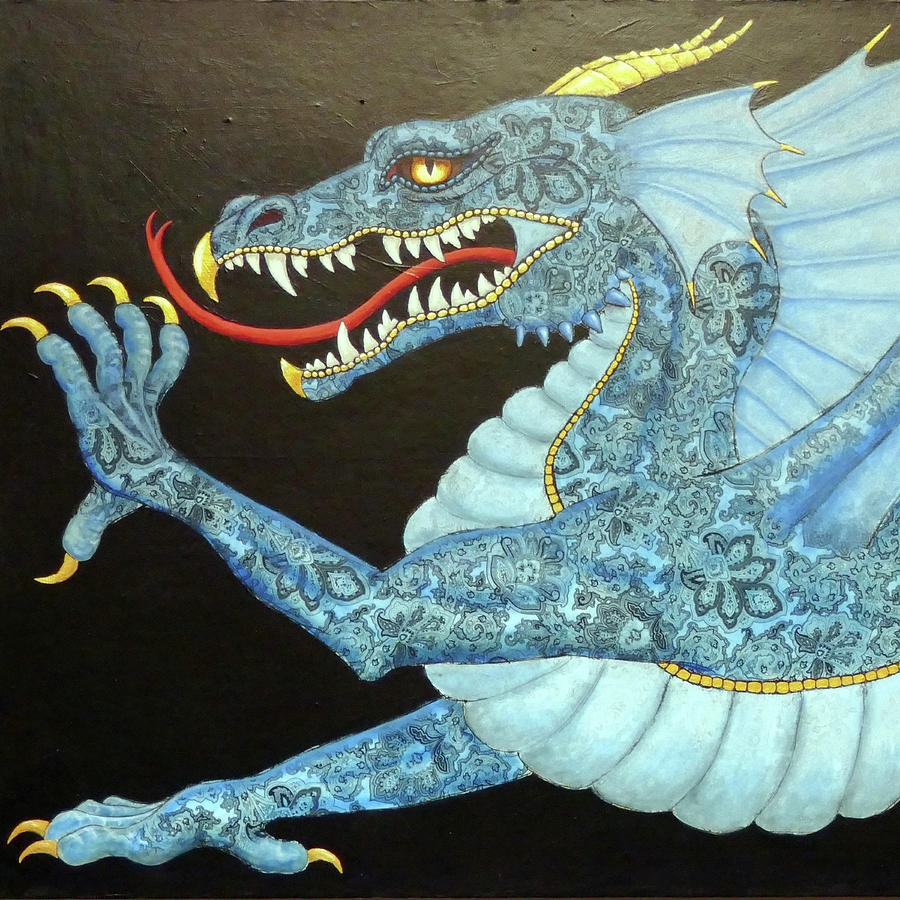 Blue Dragon by Ande Hall