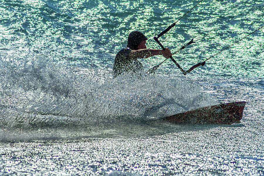 Action Photograph - Blue Ecstasy by Stelios Kleanthous