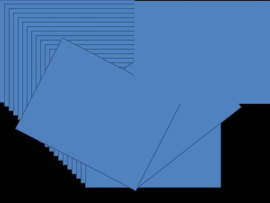Blue Digital Art by Edith Womack
