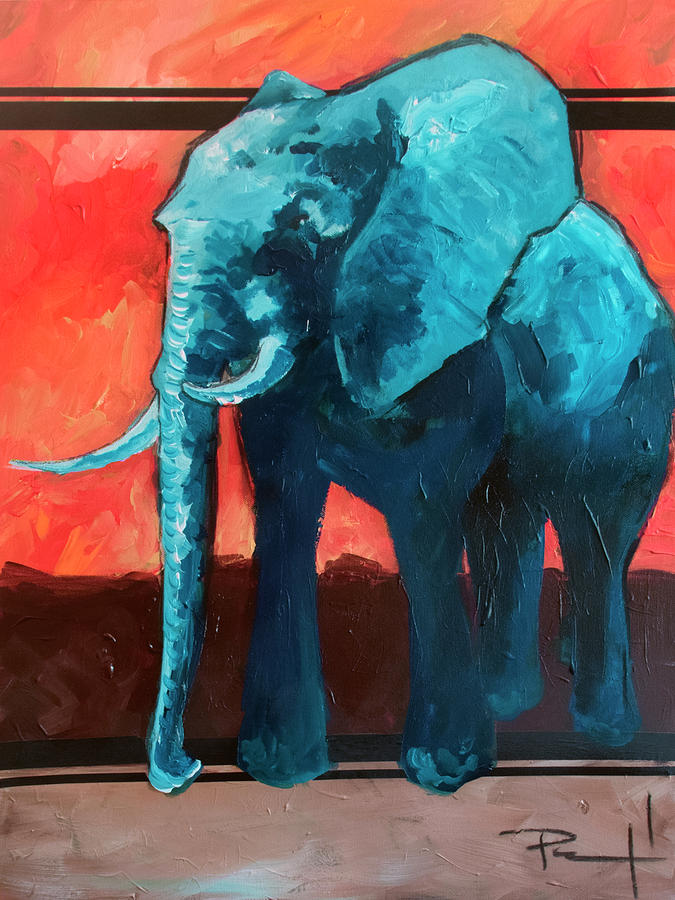 Blue Elephant by Sean Parnell