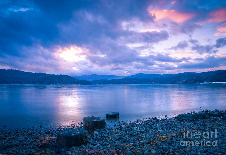 Cda Photograph - Blue Evening by Idaho Scenic Images Linda Lantzy