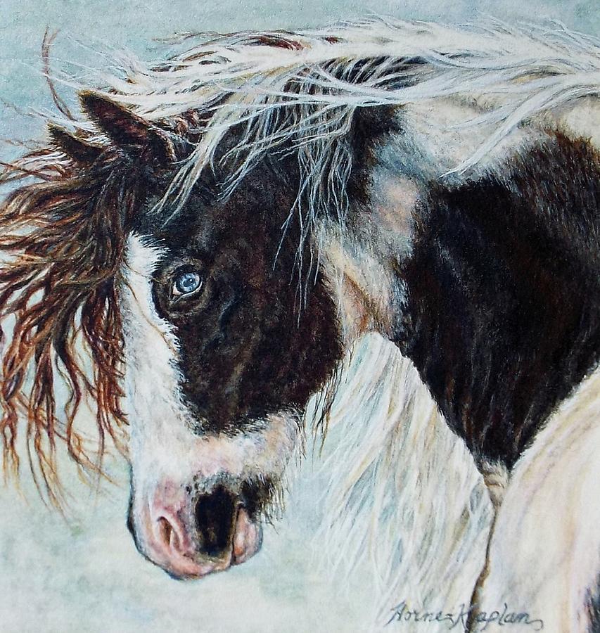 Blue Eyed Storm by Denise Horne-Kaplan