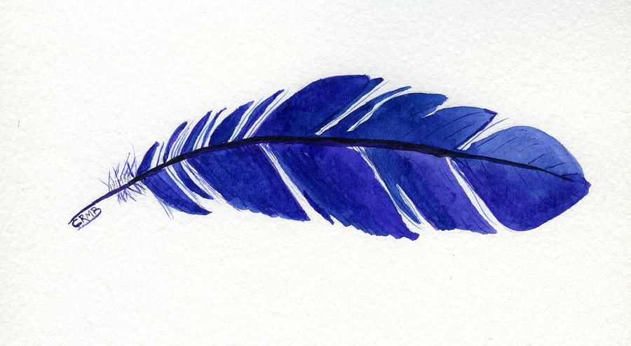 Blue Feather by Candace Bailly