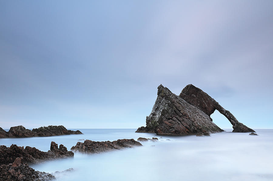 Rock Photograph - Blue Fiddle by Grant Glendinning