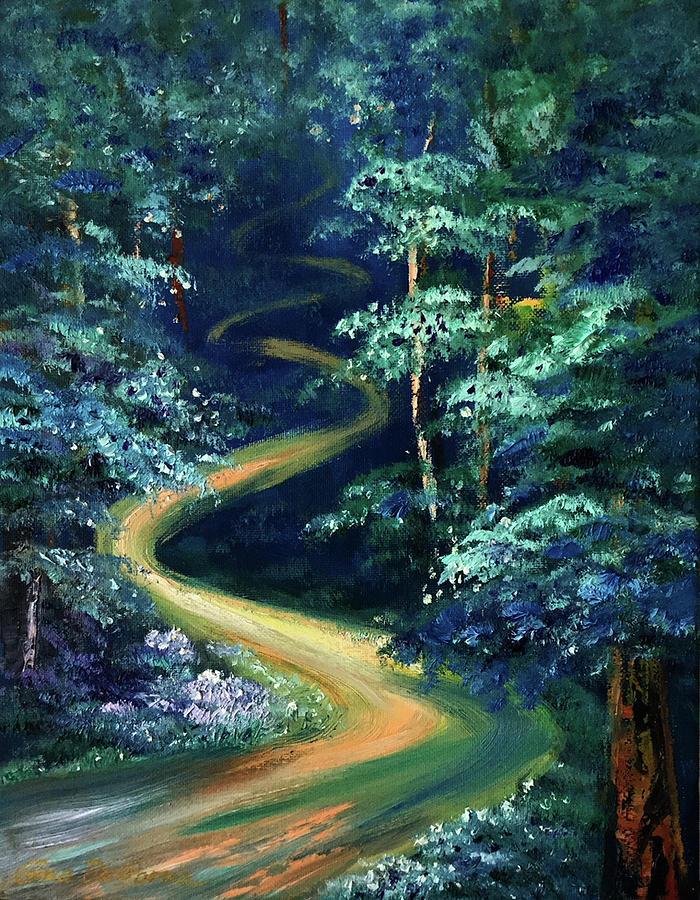 Blue Forest by Gina De Gorna