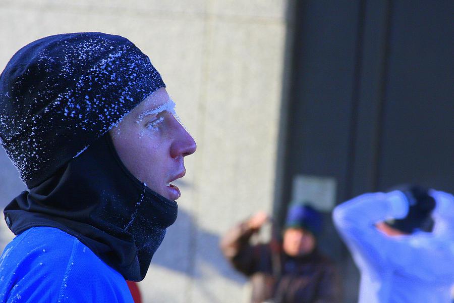 Marathon Photograph - Blue Frost by Laurie Prentice