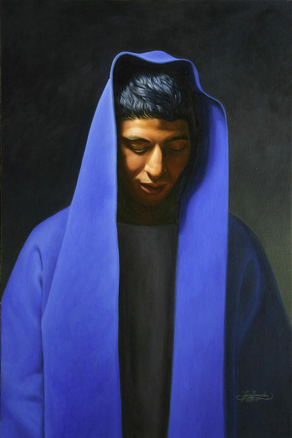 Blue Painting by Gary Hernandez
