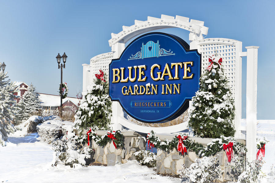 Blue Gate Photograph   Blue Gate Garden Inn By David Arment