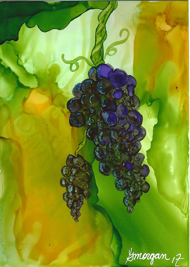 Blue Grapes by Gerry Morgan